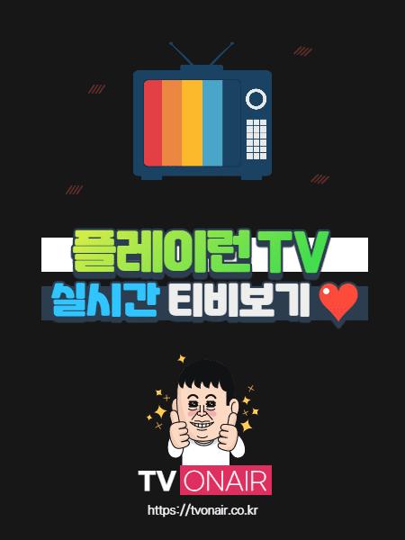 플레이런TV 무료 실시간TV 보기