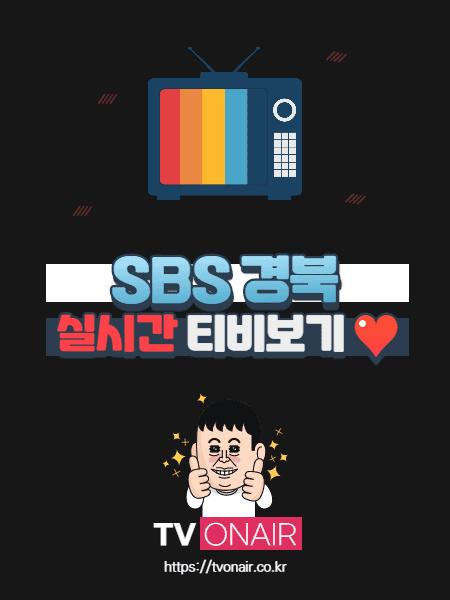 SBS 경북 무료 실시간TV 보기